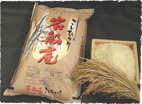 岩船産のお米